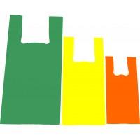 Sacolas Alça Camiseta 45x60x0,10 Personalizadas (1000 unidades)